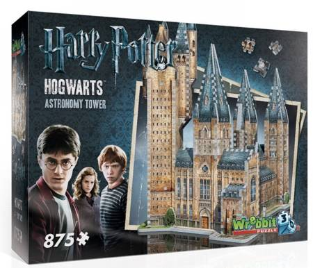 3D Jigsaw Puzzle - Harry Potter Hogwarts Astronomy Hall - Wrebbit