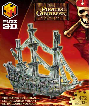 3D Jigsaw Puzzle - Flying Dutchman