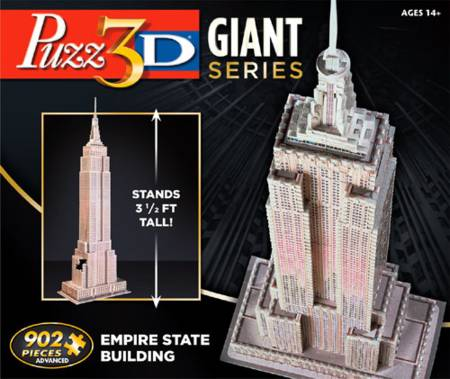 3D Jigsaw Puzzle - Giant Empire State