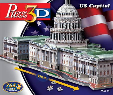 3D Jigsaw Puzzle - US Capital