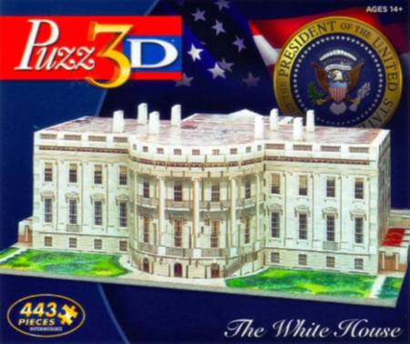 3D Jigsaw Puzzle - The White House