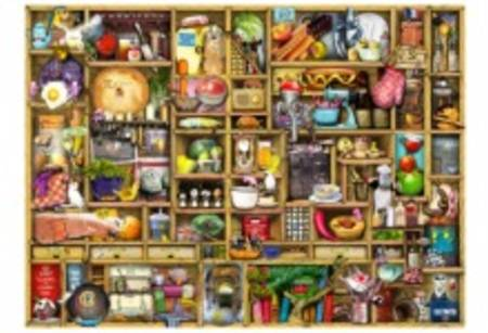 Wooden Jigsaw Puzzle - Kitchen Cupboard - 500 Pieces Wentworth Wooden Jigsaw Puzzle