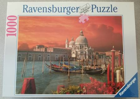Jigsaw Puzzle - Le Grand Canal (#15641) - 1000 Pieces Ravensburger