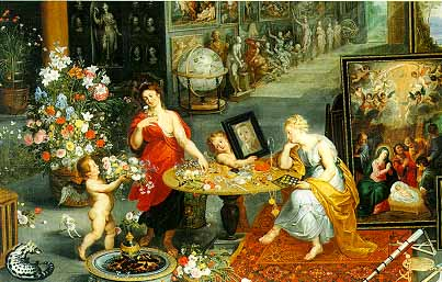Jigsaw Puzzle - Allegory of Sight and Smell - 6000 Pieces Clementoni (Sale!)