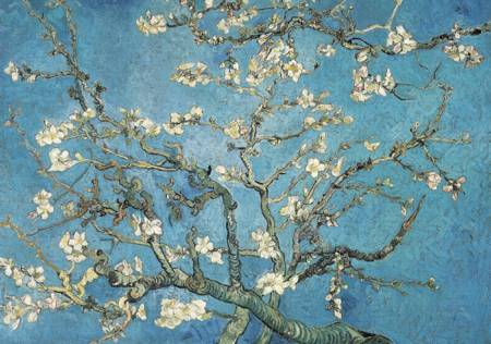 Wooden Jigsaw Puzzle - Almond Blossom, 1890 (#700504) - 1000 Wentworth