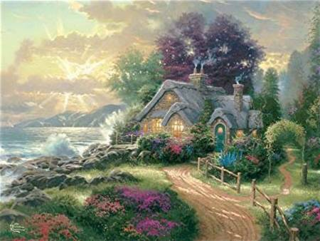 Thomas Kinkade Jigsaw Puzzle - A New Day Dawning (#3401-30) - 1500 Pieces Ceaco