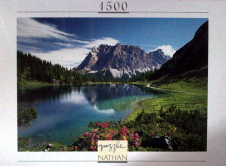 Jigsaw Puzzle - Alpine Mirror - 1500 Pieces Nathan