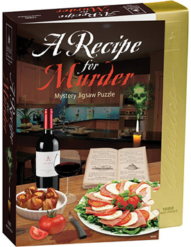 Mystery Jigsaw Puzzle - Recipe for Murder - 1000 Pieces