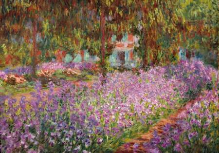 Wooden Jigsaw Puzzle - Artist`s Garden at Giverny - 1000 Pieces