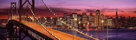 Jigsaw Puzzle - Bay Bridge, San Francisco (Panoramic Image) - 2000 Pieces Ravensburger