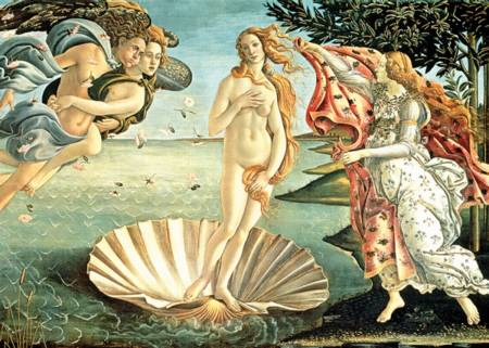 Jigsaw Puzzle - Birth of Venus (37214)