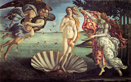 Wooden Jigsaw Puzzle - Birth of Venus - 140 Pieces