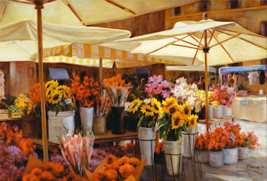Jigsaw Puzzle - Camp di Fiori (Flower Market) - 3000 Pieces Educa