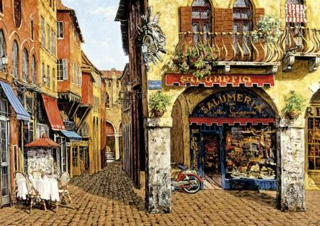 Jigsaw Puzzle - Colors of Italy (#16770) - 1500 Pieces Educa