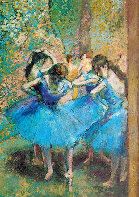 Jigsaw Puzzle -  Dancers in Blue (10361)