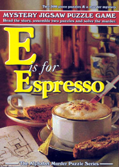 Mystery Jigsaw Puzzle - E is for Espresso - 2 500 Piece Puzzles