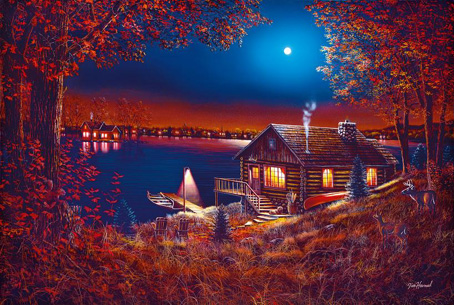 Jigsaw Puzzle - Evening Serenity - 1000 Pieces Clementoni