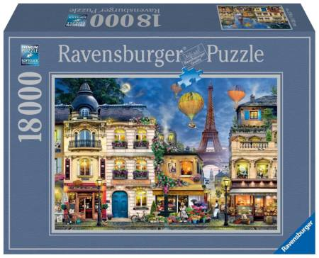 Jigsaw Puzzle - Evening Walk in Paris - 18000 Pieces Ravensburger