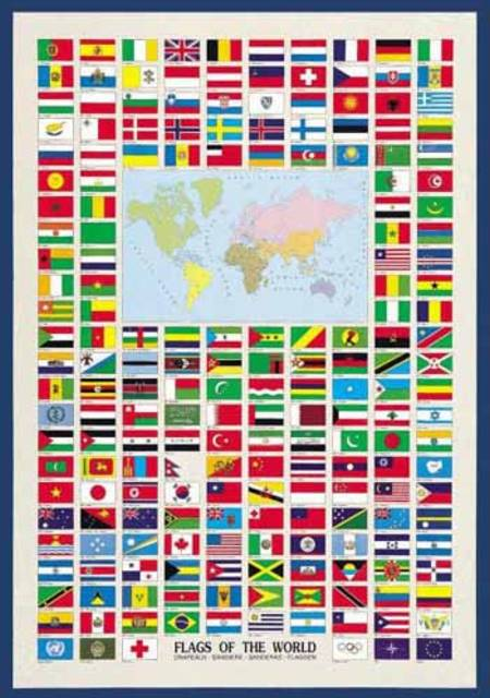 Jigsaw puzzle flags of the world 2804n00008 1000 pieces ricordi gumiabroncs Images