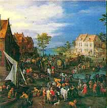 Jigsaw Puzzle - Flemish Fair - 500 Pieces Battle Road Press