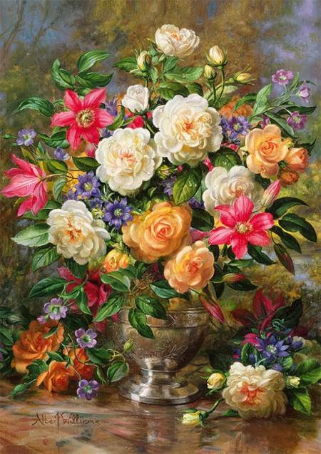 Jigsaw Puzzle - Flowers for the Queen (45003)