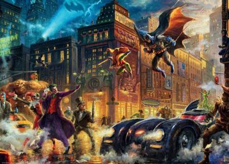 Ceaco Jigsaw Puzzle - Gotham City (3154-03) - 1000 Pieces Ceaco