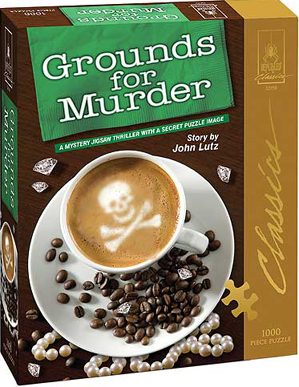 Mystery Jigsaw Puzzle - Grounds for Murder - 1000 Pieces
