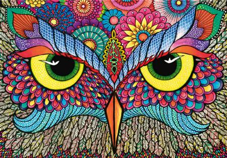 Wooden Jigsaw Puzzle - Its a Hoot (#790413) - 500 Pieces