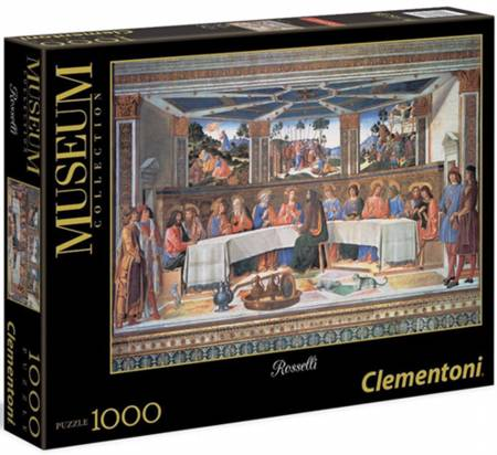 Jigsaw Puzzle - Last Supper (#39289) (Roselli) - 1000 Pieces Clementoni