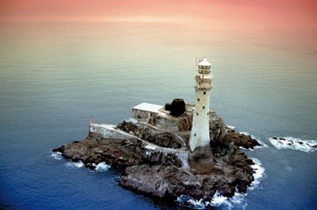Jigsaw Puzzle - Lighthouse at Sunset - 1000 Pieces Clementoni