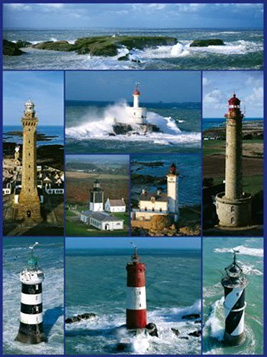 Jigsaw Puzzle - Lighthouses of Brittany - 1000 Pieces Ravensburger