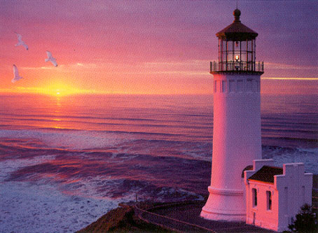 Jigsaw Puzzle - Lighthouse Sunset - 2000 Pieces Clementoni