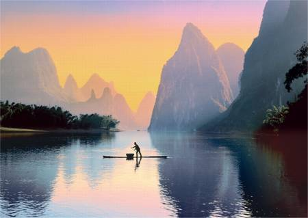Jigsaw Puzzle - Lijiang River, China (37161)