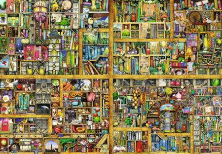 Jigsaw Puzzle - Magical Bookcase - 18000 Pieces Ravensburger