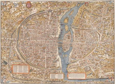 Jigsaw Puzzle - Map of Paris (#2901N26034) - 1500 Pieces Ricordi