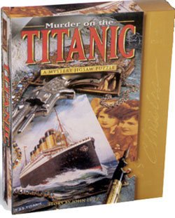 Mystery Jigsaw Puzzle - Murder on The Titanic - 1000 Pieces