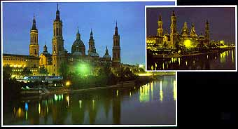 Glow in Dark Jigsaw Puzzle - Basilica Del Pilar - 1000 Pieces Educa