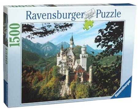 Jigsaw Puzzle - Neuschwanstein Castle (#162369) - 1500 Pieces Ravensburger