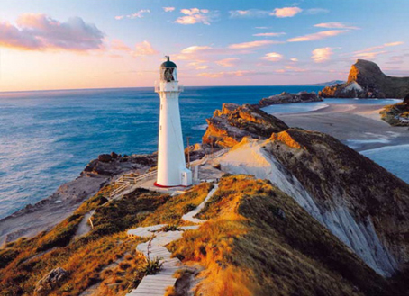 Jigsaw Puzzle - New Zealand Lighthouse (#39236) - 1000 Pieces Clementoni