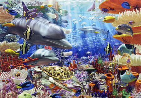 Jigsaw Puzzle - Oceanic Wonders (#170272) - 3000 Pieces Ravensburger