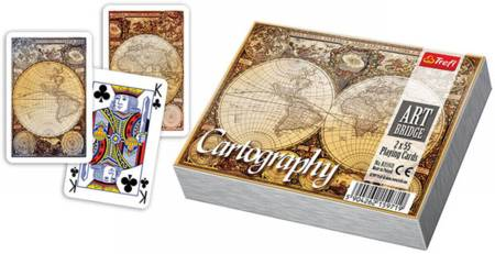 Puzzle House - Playing Cards -  Cartography