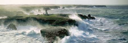 Jigsaw Puzzle - Plisson - Blast of Wave (#39353) (Panoramic Image) - 1000 Pieces Clementoni