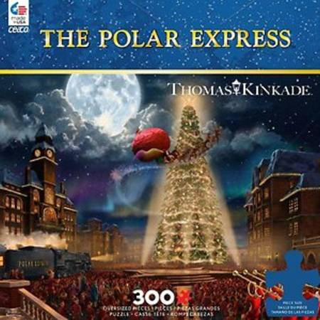 Jigsaw Puzzle - Polar Express (#2247-3) - 300 Pieces Ceaco