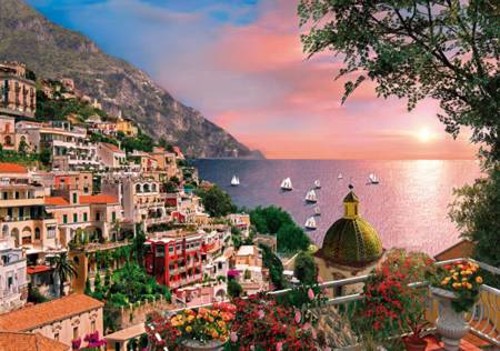Wooden Jigsaw Puzzle - Positano - 250 Pieces Wentworth Wooden Jigsaw Puzzle