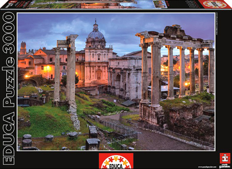 Jigsaw Puzzle - Roman Forum (#15540) - 3000 Pieces Educa