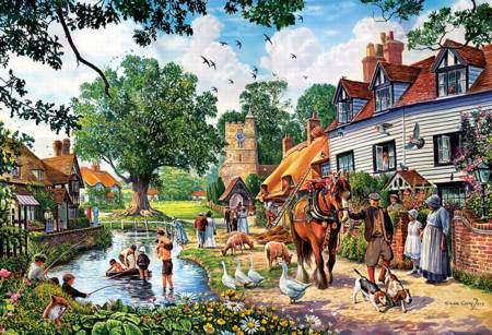 Jigsaw Puzzle - Rural Idyll (26121)