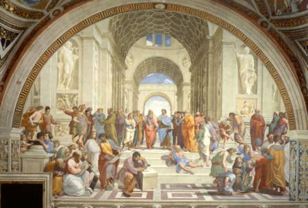 Jigsaw Puzzle - School of Athens (#35043) - 500 Pieces Clementoni