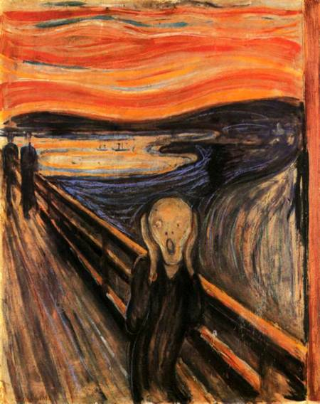 Jigsaw Puzzle - The Scream (#2901N26005) - 1500 Pieces Ricordi