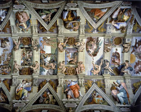 Wooden Jigsaw Puzzle - Sistine Chapel - 1000 Pieces Wentworth