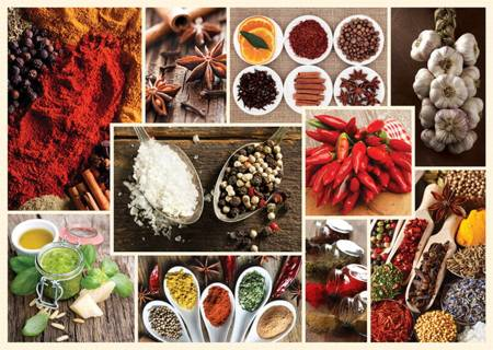 Jigsaw Puzzle -  Spices (10358)